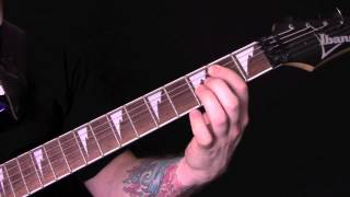 One Rode To Asa Bay Guitar Tutorial by Bathory