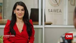 Ainojie 'Alex' Irune on CNN's Connecting Africa with Eleni Giokos