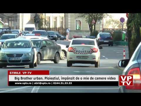 Big Brother urban. Ploieștiul, împânzit de o mie de camere video