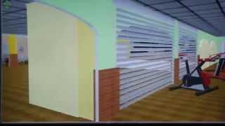 preview picture of video 'Virtuelle Vorstellung des Kurgarten Prenzlau'