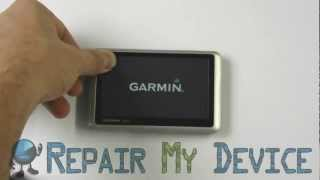 Garmin Nuvi 1300 touch screen calibration