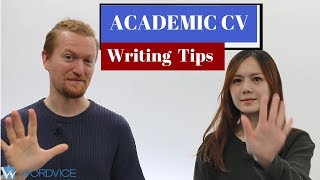 5 Tips for a Perfect Academic CV