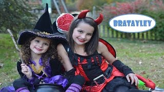 Halloween Trick-or-Treating with Bratayley (WK 200.3)
