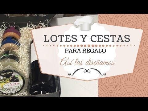 Confección de lotes, cestas y cajas de regalo