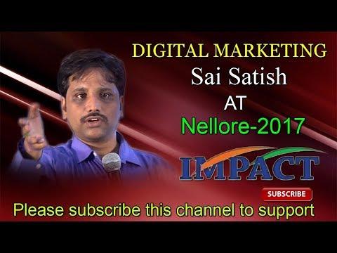 Internet Q & A   Sai Satish    TELUGU IMPACT Nellore 2017