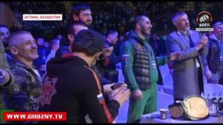 Хусейн Халиев победил в главном поединке WFCA 35 в Астане