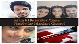 Reply to madan gowri | arushi murder case | Tamil Explorer (தமிழ்)