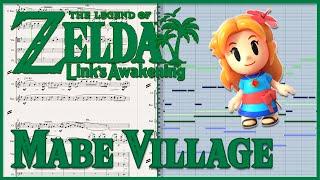 "New Transcription: ""Mabe Village"" from Zelda: Link's Awakening HD (2019)"