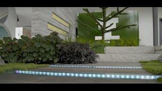 Charmant Garten: Moderne Gartengestaltung Mit Licht Und Wasser