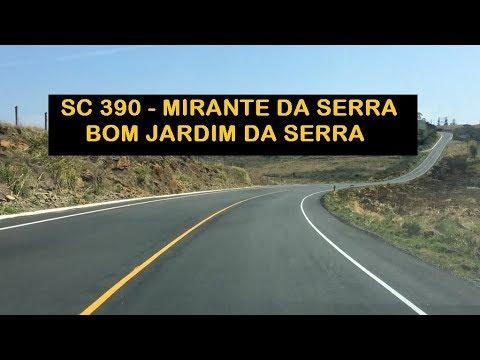 SC 390 - Mirante da Serra até Bom Jardim da Serra