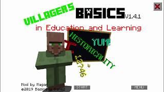 Villager's Basics SUPER DUPER ULTRA FAST! [Baldi's Basics Mod]