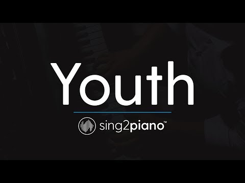 Youth (Piano Karaoke Instrumental) Shawn Mendes & Khalid Mp3