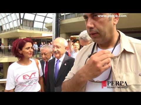Kemal Kılıçdaroğlu Perpa!yı Ziyaret Etti