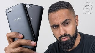 Oppo R11 vs OnePlus 5 UNBOXING