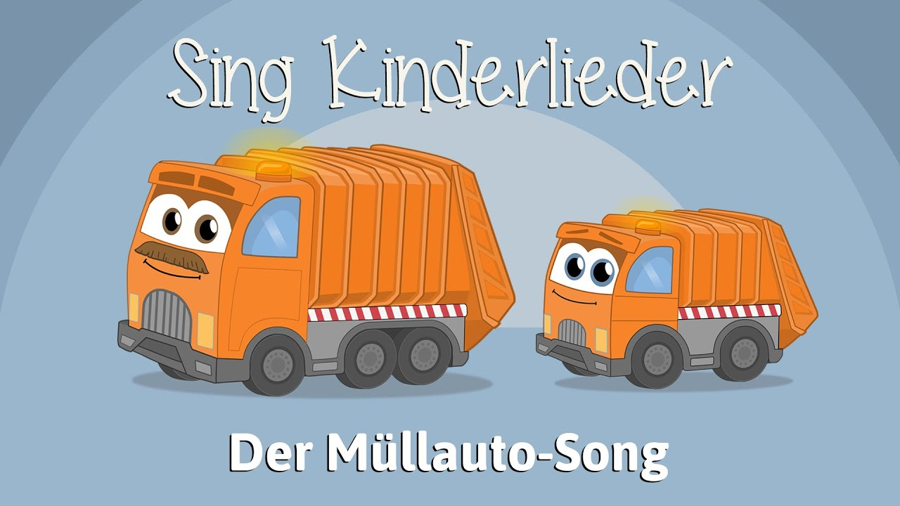 Das Kinderlied Der Müllauto-Song (Tut-tut) von Sing Kinderlieder