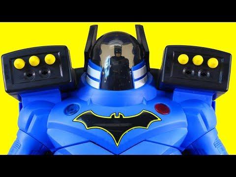 Imaginext Batbot Xtreme Robot And Batman Search For Power Rangers Megazord