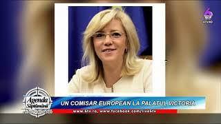 Un comisar european la Palatul Victoria