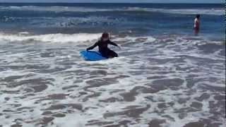 Body Boarding, Sunset Beach, California