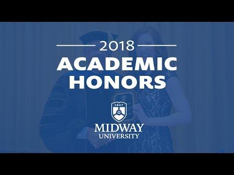 2018 Academic Honors Night