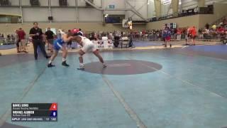 80 Round of 64 - Daniel Lewis (Missouri Wrestling Foundation) vs. Michael Aldrich (Northern Illin...