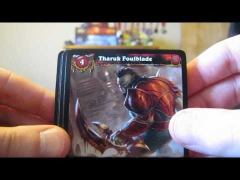 Opening World of Warcraft TCG War of the Elements Booster Packs (Savage Raptor Loot Card Pull!)