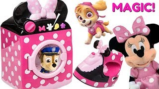 Learn Colors with Paw Patrol & Minnie Mouse