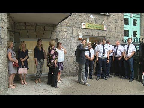 Átadták a Közterület-felügyelet új irodáját  - video preview image