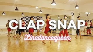 Clap Snap Line Dance (Intermediate Level) Demo