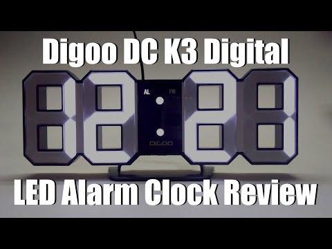 Digoo DC K3 Digital Alarm Clock Review (From Banggood)