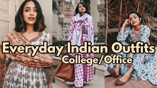 7 Everyday Indian Outfits For College/Office   DIKSHA