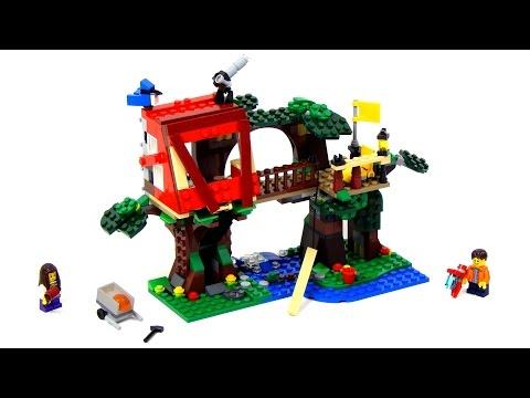 Vidéo LEGO Creator 31053 : Les aventures dans la cabane dans l'arbre