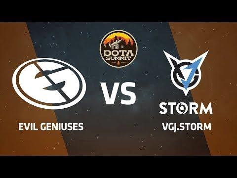 Evil Geniuses против VGJ.Storm, Вторая карта, DOTA Summit 9 LAN-Final