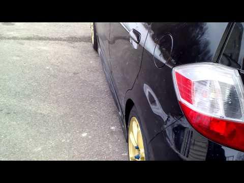 2011 Honda Fit Konig Feather rims