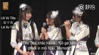 [Vietsub] CKG48 Team C MC [Lôi Vũ Tiêu - Fan girl của Momo ở CKG]