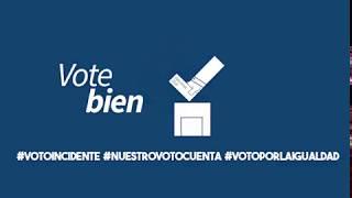 En las elecciones presidenciales,Nuestro voto cuenta