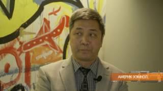 """АМЕРИК ХЭМНЭЛ"""" нэвтрүүлэг ("""" United Mongolia"""" ТББ-ын тэргүүн Г. Галбадрах )"""