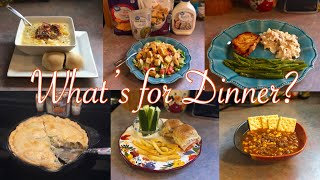 What's for Dinner?| Family Meal Ideas| October 1-7, 2018