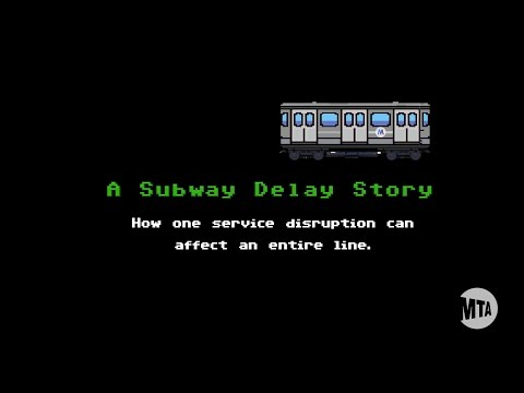 The Simple Trick Subway Dispatchers Use To Get Service Back On Track