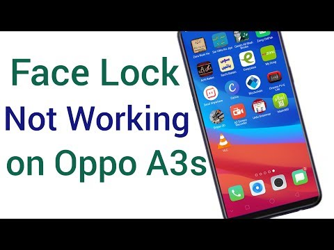 How To Set Face Lock In Oppo A3s