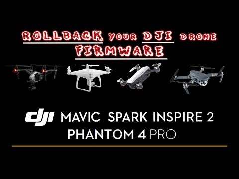 FIRMWARE Rollback Dji Drones! downgrade, upgrade to any firmware! - Музыка  для Машины