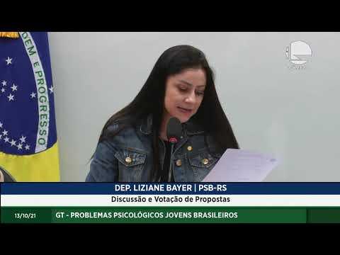 GT - Problemas Psicológicos Jovens Brasileiros - Discussão e votação de propostas – 13/10/2021