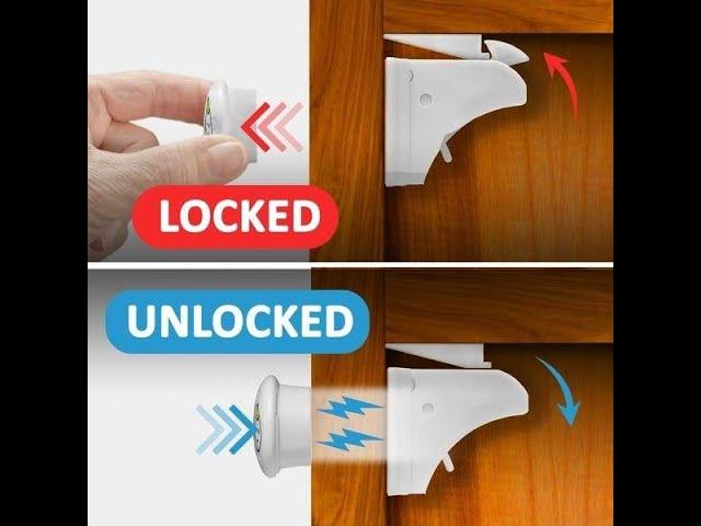 قفل مغناطيسي للأدراج والخزانات