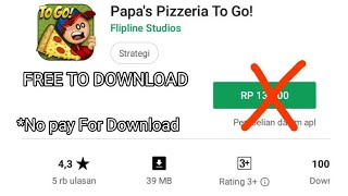 papas pizzeria to go hd apk