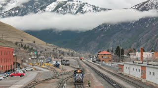 Missoula Railroading! MRL, Marent Trestle and More! - Big Sky Tour - Part 7