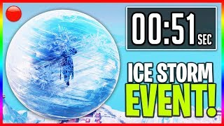 """I Missed The Live """"ICE STORM"""" Event in Fortnite... (ProHenis Reacts to Ice Ball Event)"""