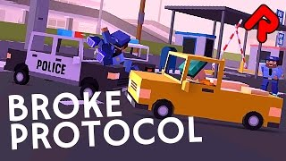 Broke Protocol Is A Low-poly Crime Sandbox! | Let's Play Broke Protocol Gameplay (alpha 0.61)