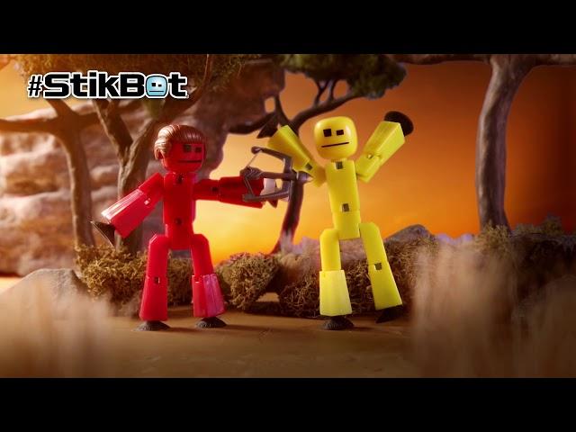 Фігурка Для Анімаційної Творчості Stikbot Safari Pets