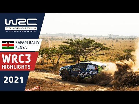 WRC 2021 WRC3第6戦ラリー・ケニア ハイライト動画