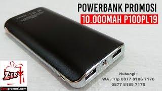 Jual Souvenir Powerbank Promosi 10.000mAh P100PL19