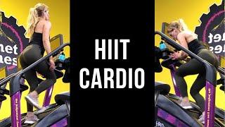 HIIT CARDIO Gym Stair Master Workout Plan
